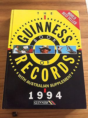 Guinness Book Of Records 1994 - With Australian Supplement