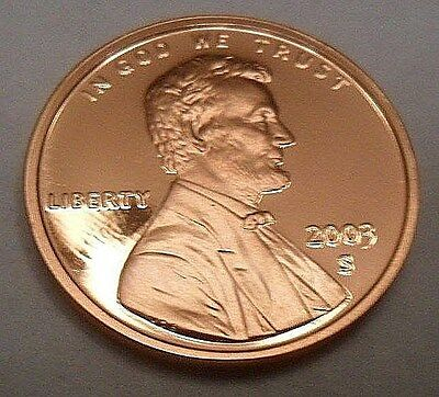 2003 S Lincoln Memorial *proof* Cent / Penny  **free Shipping**