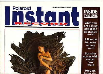 Polaroid Instant Record newspaper Spring/Summer 1995
