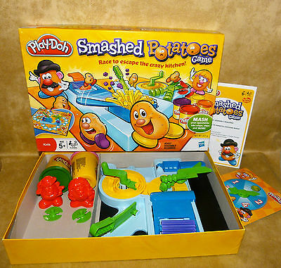 Play-doh Smashed Potatoes Game, Mr Potato Head Toy Story, Complete with dough