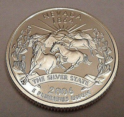 2006 S Nevada  *90% Silver Proof*  State Quarter   **free Shipping**