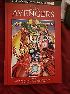 marvel the avegers hard back book