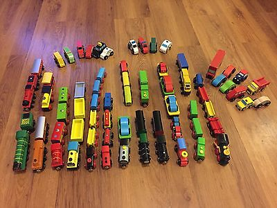 Trains for Brio / Wooden Train Track with Combined Postage