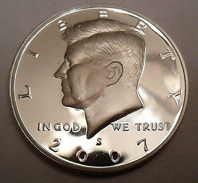 2007 S Kennedy *90% Silver Proof* Half Dollar  **free Shipping**