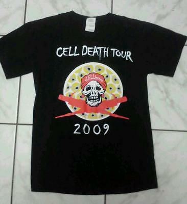 Cell Death Tour 2009 XCelligence T-Shirt Black Small The Electric Tour UnPlugged
