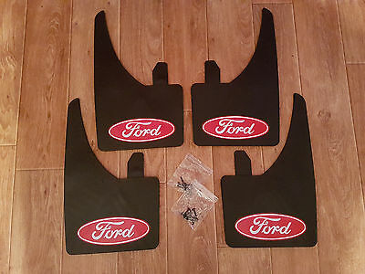 FULL SET OF Red FORD MUD FLAPS