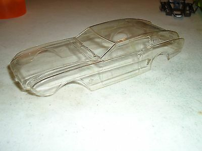 1/24 Dubro Mustang Concept Mach Fastback Clear Nos Body Vintage Slot Car