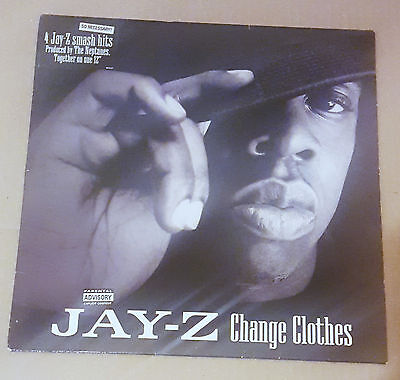 Jay-Z - First Official Single - Change Clothes 12 Inch Vinyl