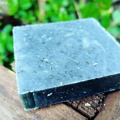 Handmade Coffee soap and pumice stone bath spa natural soap cinnamon scent 120g