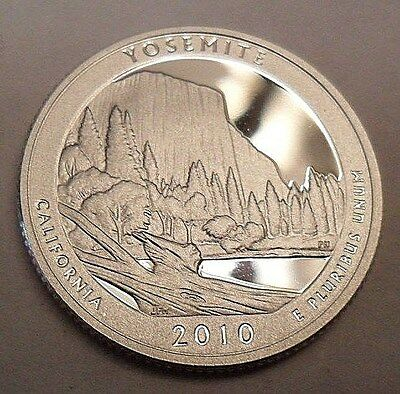 2010 S Yosemite  *90% Silver Proof*  State Quarter   **free Shipping**