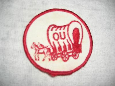 OU  covered wagon patch