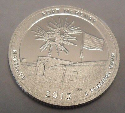 2013 S Fort Mchenry  *90% Silver Proof*  State Quarter   **free Shipping**