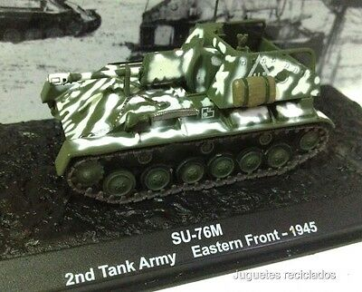 1/72 SU-76M 2nd TANK ARMY EASTERN FRONT 1945 WWII TANK TANQUE ALTAYA