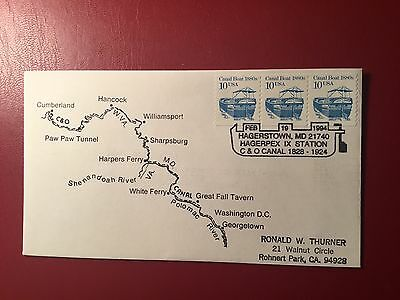 C & O Canal Map Cover  (NC298)