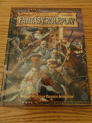 Fabulous Book WARHAMMER FANTASY ROLEPLAY - Grim World of Perilous Adventure 2005