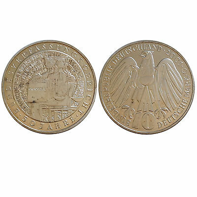 Germany 2001 G 10 Mark - Federal Constitutional Court