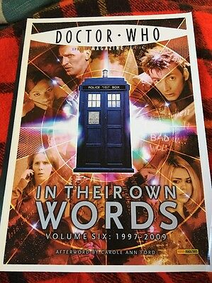 Doctor Who Magazine: In Their Own Words Volume Six: 1997-2009