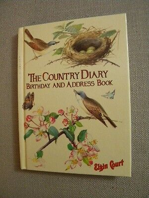 The Country Diary Birthday And Address Book 1977 Edith Holden Illustrations