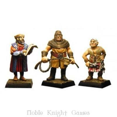 Fenryll Fantasy Mini Resin 28mm Executioners, The Pack MINT