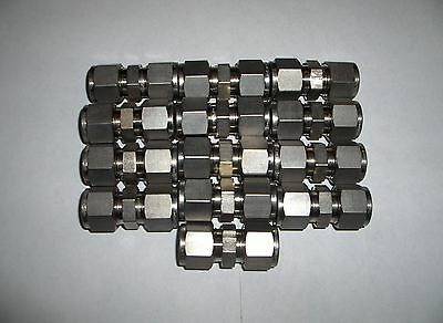 (13) NEW Swagelok Stainless Steel Union Tube Fittings SS-810-6