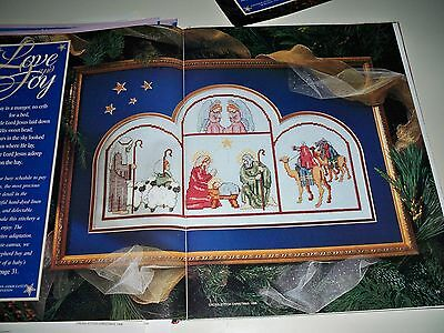 "Counted Cross~Stitch Charts For ""nativity"" Picture"