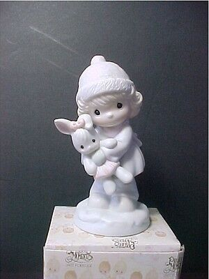 Precious Moments 'Good Friends Are For Always' #524123 Trumpet mark  Mint W/Box
