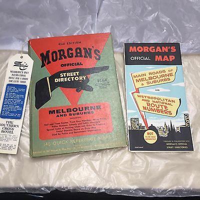 Vintage Street Directory And Map