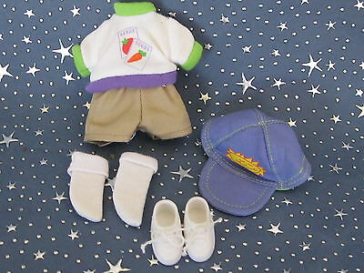 """Madeline 8"""" doll Eden/LearningCurve  SEEDS SHIRT SHORTS Play Clothes Set"""