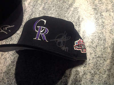 Todd Helton Autographed 2003 All-Star Game Rockies Hat