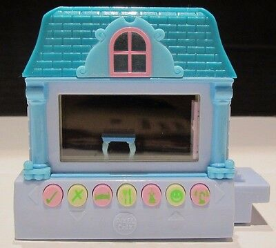 Pixel Chix Haunted Mansion ghost blue House Cottage 2006 Mattel Electronic Toy