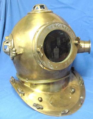 Colectable Full Size Brass & Iron Germany Munich Diving Helmet.