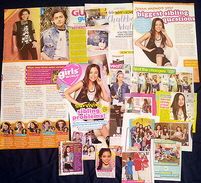 18 Stuck In The Middle Cast Clippings Jenna Ortega Ronni Hawk Isaak Presley