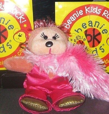 Beanie Kids - Mini Delta The Diva Bear, Limited Edition **brand New**