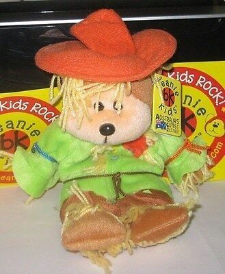 Beanie Kids - Smarty The Scarecrow Bear (  Released/ Retired 2004 ) * Brand New*