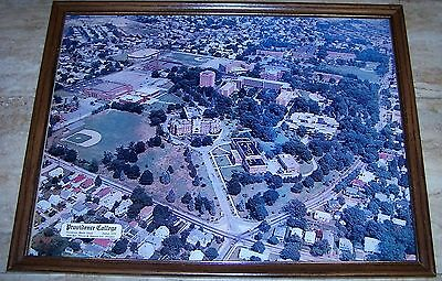 Nice 1978 Providence College Campus Framed Print Of Grounds In Rhode Island