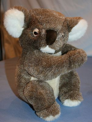 Dakin Plush Koala Bear Stuffed Animal Velcro Hands 11""