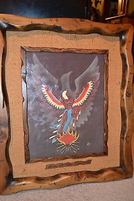 Rise of the Phoenix - Signed Print by Joe Rector. Native American