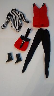 Barbie Fashion Avenue - Red Outfit #14362