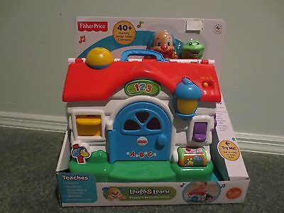 NEW 2013 Fisher-Price Laugh & Learn Puppy's Activity Home BKF52 6-36MO BOY &GIRL