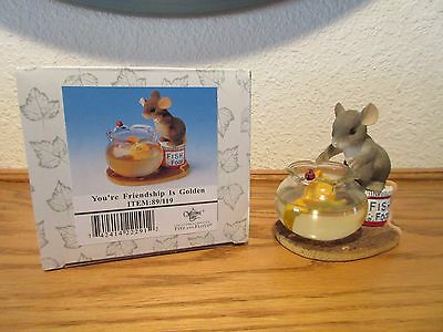 Charming Tails You're Friendship is Golden Figurine