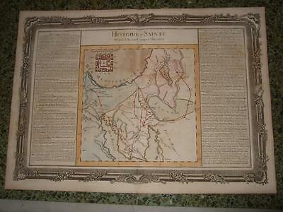 1762,l-Exodus Of The Jews From Egypt,israel/palestine/holy Land,moses,sinai