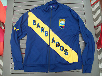 Official 2004 BARBADOS Olympic GamesTrack Suit Top (made by ROOTS)