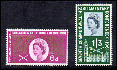 [1194]  Great Britain 1961 VIIth Commonwealth Parliamentary Conference Mint Set.