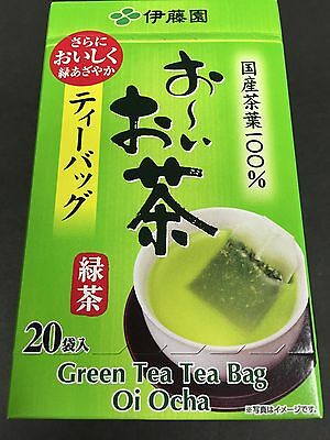 ITOEN Oi Ocha Green Tea Bag 20 Pieces Matcha Blended Instant MADE IN JAPAN