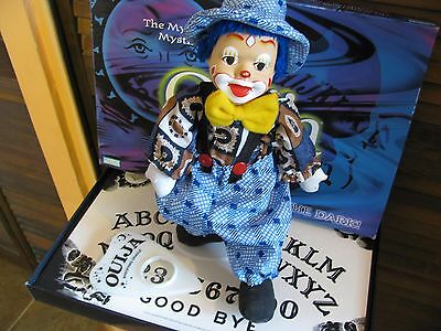 Ouija Board and Haunted 13 inchs tall Doll Supernatural Paranormal powers active
