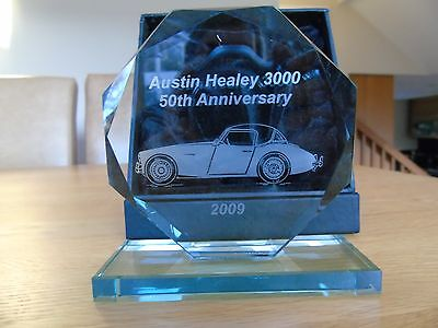 Austin Healey  3000  Commemorative Plaque