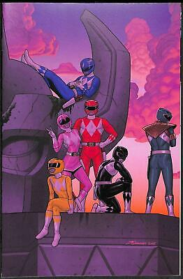 Mighty Morphin Power Rangers #2 1:50 Variant Cover by Jamal Campbell