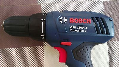 Bosch GSR1800-li 18v  Drill Driver Bare Unit, brand new