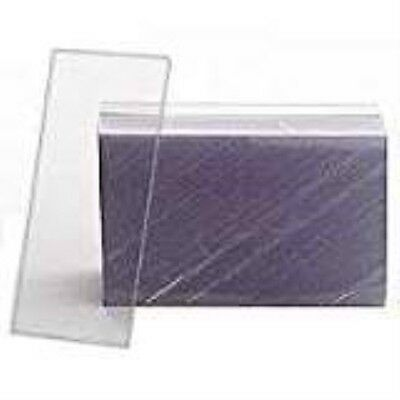 "1.25x3"" Clear Plastic Tag"