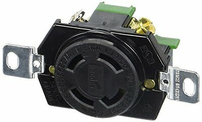 Eaton L1430R 30-Amp 125/250-Volt Hart-Lock Industrial Grade Receptacle with Safe